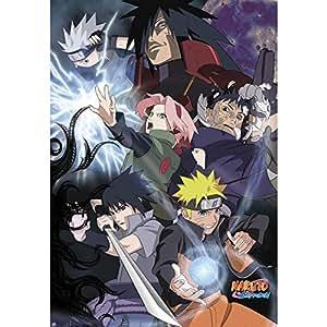 Amazon.com: Naruto Shippuden Cartel Grupo Ninja Guerra (98 x ...
