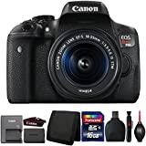 Canon EOS Rebel T6i 24.2MP DSLR Camera with 18-55mm Lens and Accessories