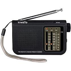 TIVDIO V-117 Portable AM/FM Radio