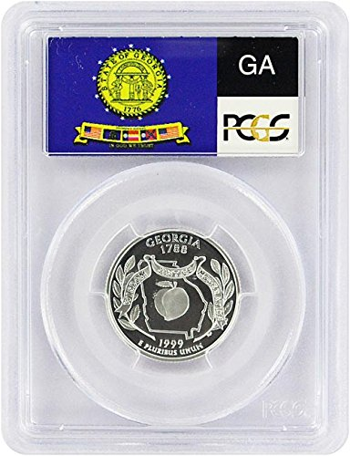 1999 Georgia State S Silver Proof Quarter PR-69 (1999 Silver Proof State Quarters)