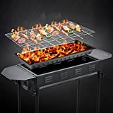 YLSZ-Large Bbq, Foldable Outdoor Grill, Home Bbq