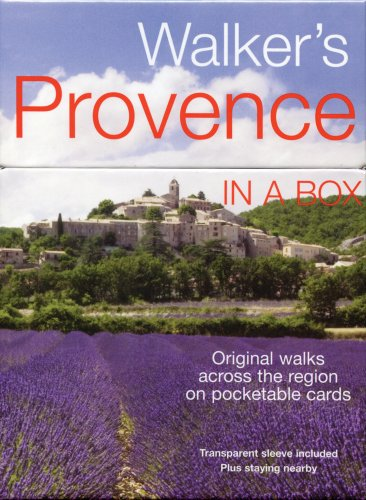 Walker's Provence in a Box (In a Box Walking & Cycling Guides) (Walker's In A Box)