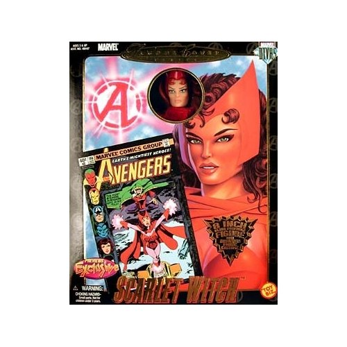 Marvel Comics Famous Covers Scarlet Witch Action Figure - Marvel Comics Famous Covers