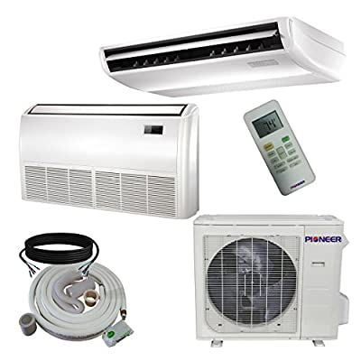 Pioneer Floor/Ceiling/Low Wall Split Inverter Air Conditioner with Heat Pump, Mini
