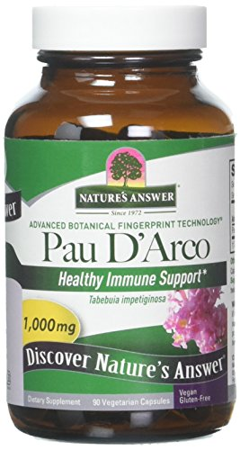 Natures Answer Pau D'Arco-Inner Bark 90 Capsules