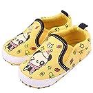 Femizee Infant Newborn Baby Boy Girl Soft Anti-Slip Crib Shoes Sneakers Yellow Panda 0-6 Months
