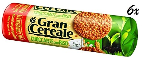 6 x Mulino Bianco Gran cereale Galletas con Arroz cereales ...