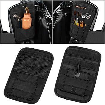 Internal Bag Organizer Storage For Harley HD Touring with 5287 Hard Saddlebags