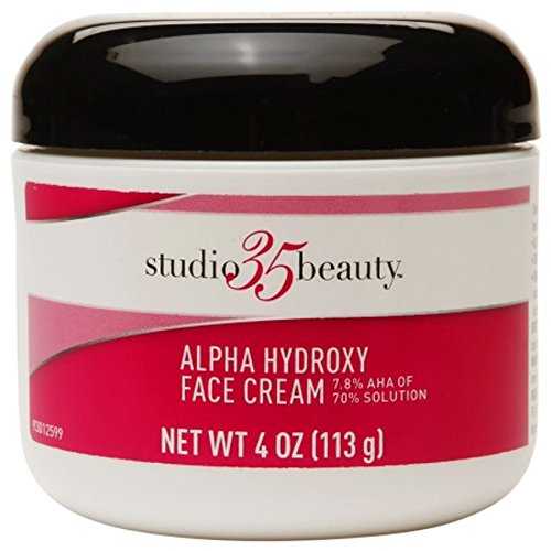 Studio 35 Beauty Face Cream with 7.8%  Alpha hydroxy Aha 4oz