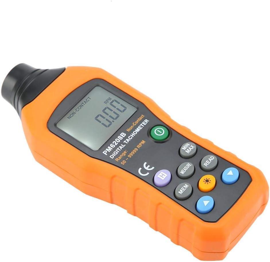 ShiSyan Y-LKUN PM6208B Digital Non-Contact Tachometer RPM Speed Meter Re-Volution Meter