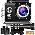 Koawxc Action 16MP 1080P Underwater Photography Camera