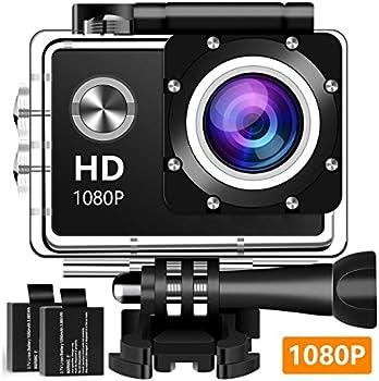 Koawxc Action 16MP 1080P Underwater Photography Camera