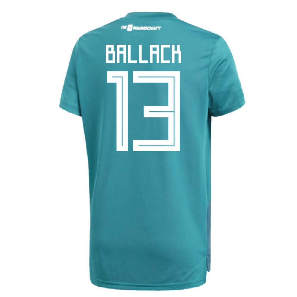2018-19 Germany Away Training Football Soccer T-Shirt Trikot (Michael Ballack 13)