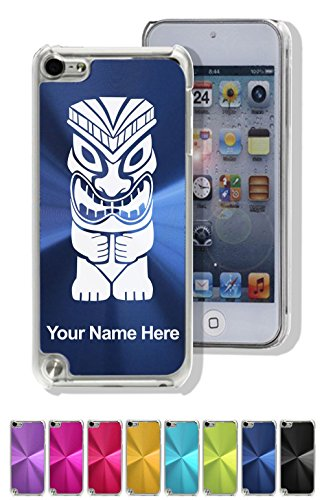 Case Compatible with iPod Touch 5th/6th Gen, Tiki Statue, Personalized Engraving ()
