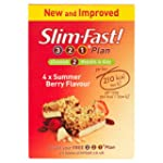 Slim.fast! Summer Berry Meal Bar 4 x 60g