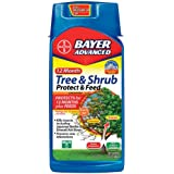 Bayer Advanced 701901 12 Month Tree and Shrub Protect and Feed Concentrate, 32-Ounce
