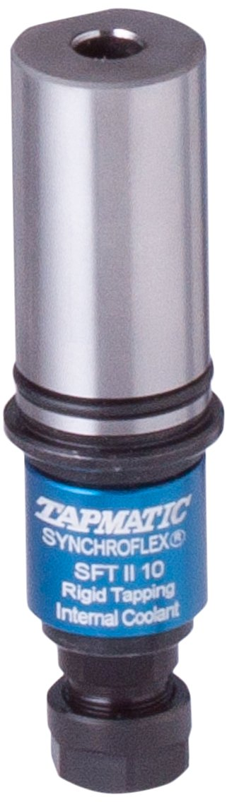 Tapmatic 4175125 SynchroFlex SFT75 Tap Holder, 1'' Shank Size, Cylindrical Shank, ER25 Collet