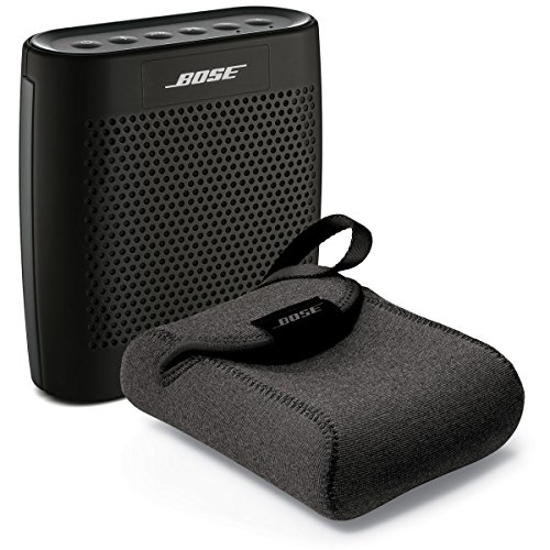 Bose SoundLink Color Bluetooth Speaker - Black - Bundle With SoundLink Color Carry Case