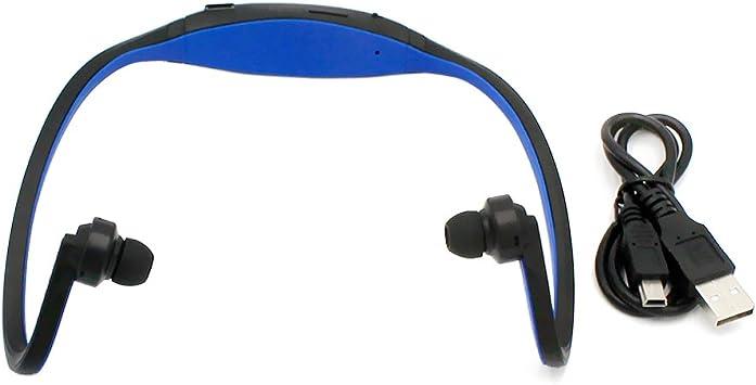 BXT ® Auricular Bluetooth 4,0 le sport el sudor, con auriculares ...