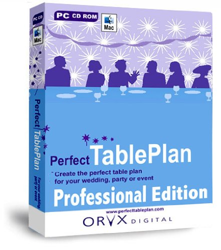 PerfectTablePlan Professional Edition: Wedding, Party Planner, Special Events Planning: Design and Print the Perfect Table Plan and Seating Arrangement Software (for PC or Mac)