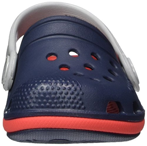 Crocs Kids' Electro III Clog, Navy/Flame, 8 M US Toddler by Crocs (Image #4)