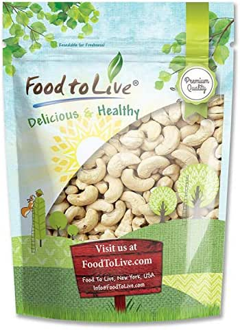 Nuts & Seeds: Food To Live Cashews