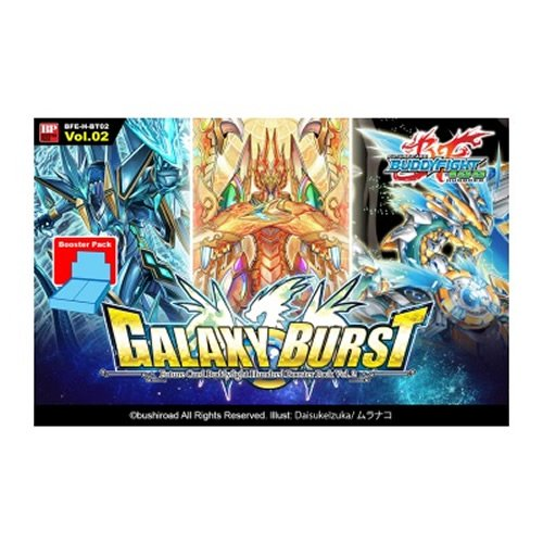 Esdevium Buddyfight Galaxy Burst Booster Display Card Game, Pack of (Galaxy Display Card)