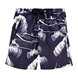 Vilebrequin - Palm Trees Boy Swimwear - Boys - 8 years - Navy Blue