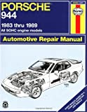 img - for Porsche 944: Automotive Repair Manual--1983 thru 1989, All Models Including Turbo (Haynes Manuals) book / textbook / text book