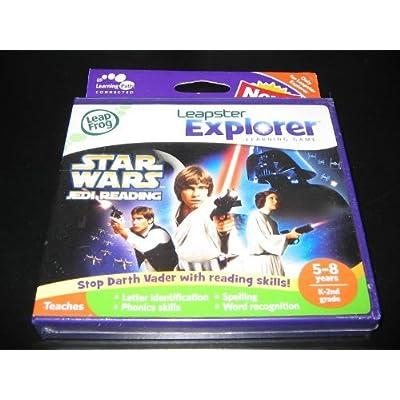 LeapFrog Leapster Explorer Learning Game: Star Wars Jedi Reading: Toys & Games