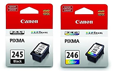 Canon PG Black 245 CL 246 Color Ink Cartridges Special for MG2520 MG2920 MG2420 by Unknown