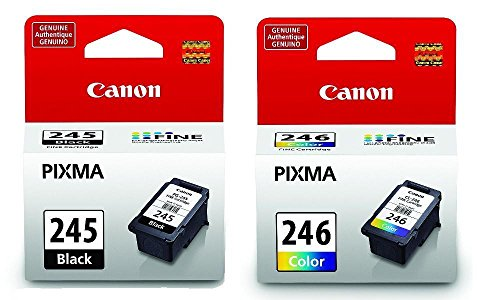 Canon PG Black 245 CL 246 Color Ink Cartridges Special for MG2520 MG2920 MG2420 (Canon Printer Ink)