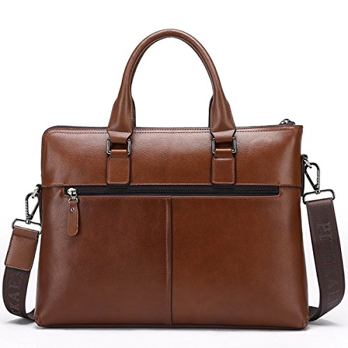 Briefcase Messenger Shoulder Laidaye Leisure Brown Multi Business Travel purpose Backpack CqStB
