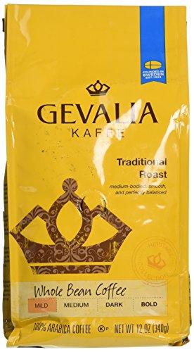 Gevalia Kaffee Traditional Roast Whole Bean Medium Coffee
