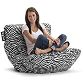Big Joe Roma Chair, Zebra