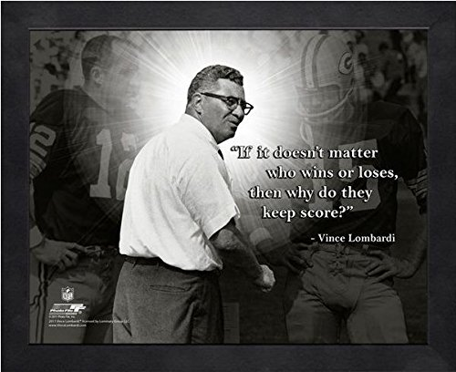 Green Bay Packers Photograph - Vince Lombardi Green Bay Packers ProQuotes Photo (Size: 9