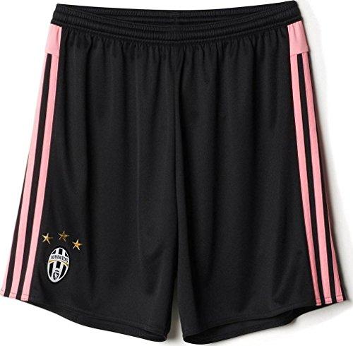 2015-2016 Juventus Adidas Away Shorts (Kids) Black