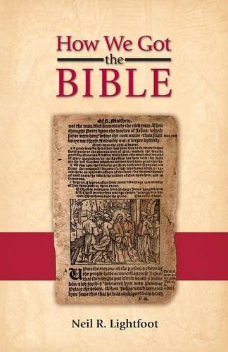 how we got the bible pdf