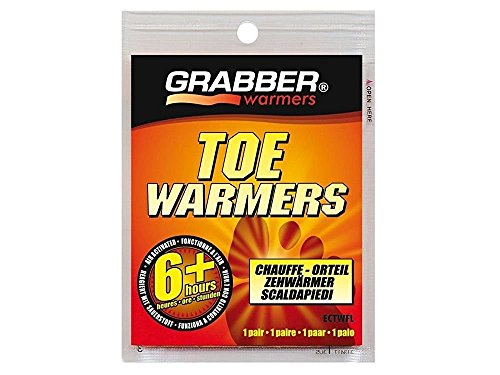 Grabber Warmers ECTWFL 20 Pack 3in. x 4in. 6+ Hour Toe Warmer by Grabber