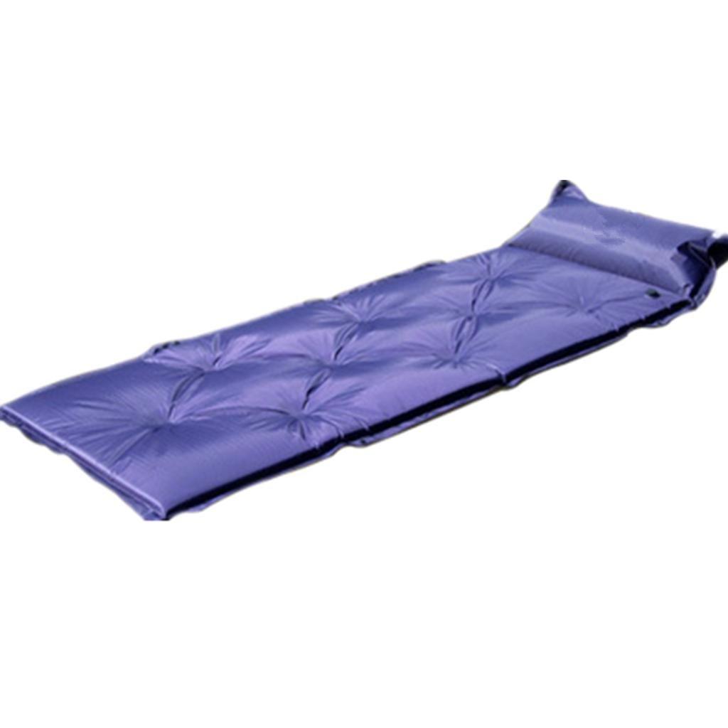 DZW automatisch aufblasbare Polster im freien Feuchtigkeit Kissen Camping Mittagessen brechen schlafen Mat zwei Singles