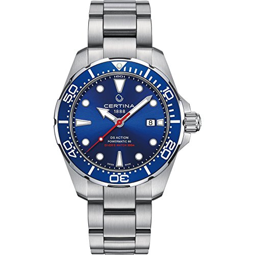 Mans watch R. CERTINA DS ACTION DIVER AC/AC E/BLA C0134071104100