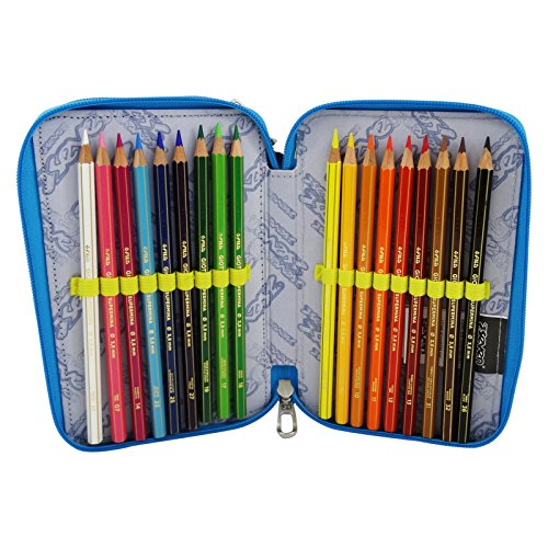 Seven Swag Boy Estuche Escolar Làpices de colores Plumier ...