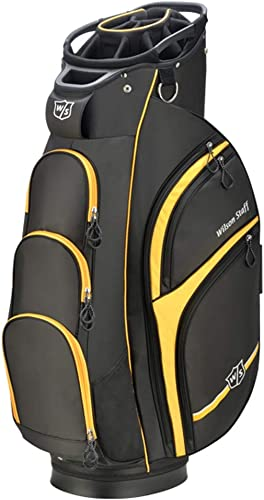 Wilson Staff Xtra Cart Bag, Black Yellow