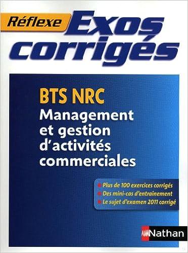 Exos corrigés - BTS NRC