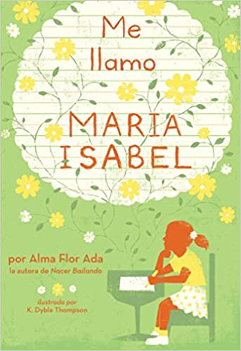 cover image, Me Llamo Maria Isabel