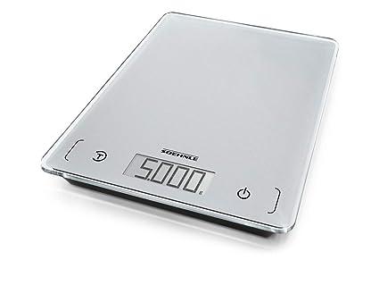 Soehnle Page Comfort 100 - Báscula de cocina digital, color plata