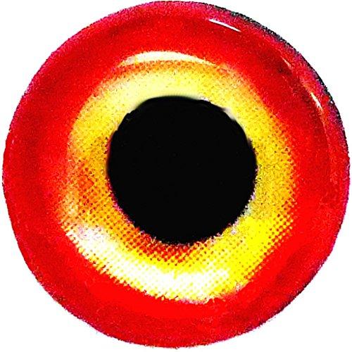 Brule 3-D Hard Epoxy Eyes (Eclipse, 6mm)
