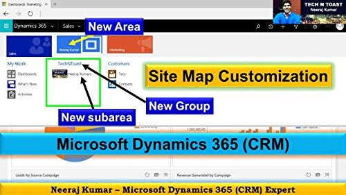 Microsoft Dynamics 365 (CRM) - Site Map Customization