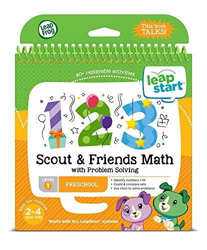 LeapFrog LeapStart Kindergarten & 1st Grade Interactive Learning System For Kids Ages 5-7 With Level 1 Preschool, Pre-Kindergarten Activity Books: Shapes, Math, Daily Routines & Alphabet Fun Bundle by LeapFrog (Image #4)