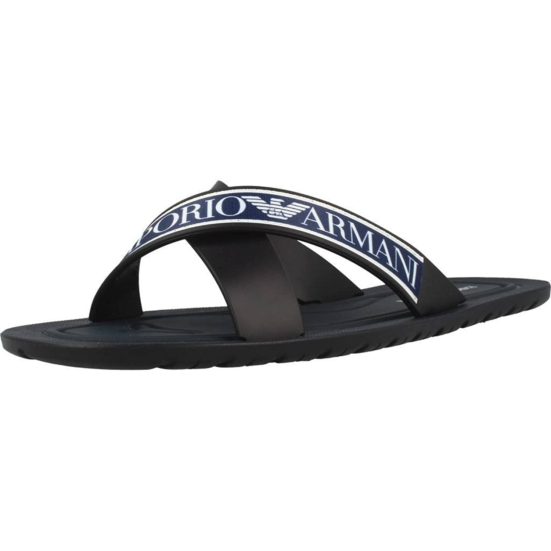 Emporio Armani Sandalias X4P079 XL293 A044 Azul